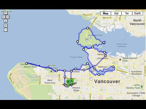 Cycling the Vancouver Seawall - Full Version