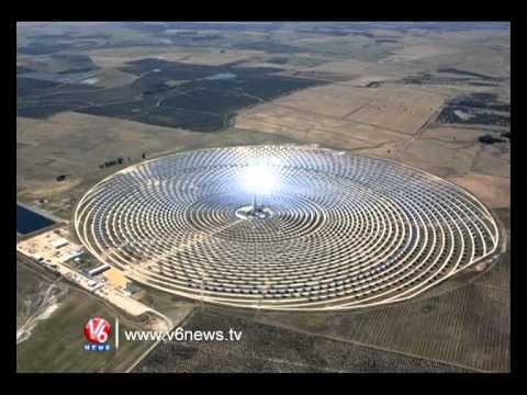 Solar Power System Spot Light