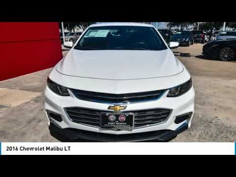 2016 Chevrolet Malibu Ft Worth Tx Arlington Tx Grapevine Tx U244595