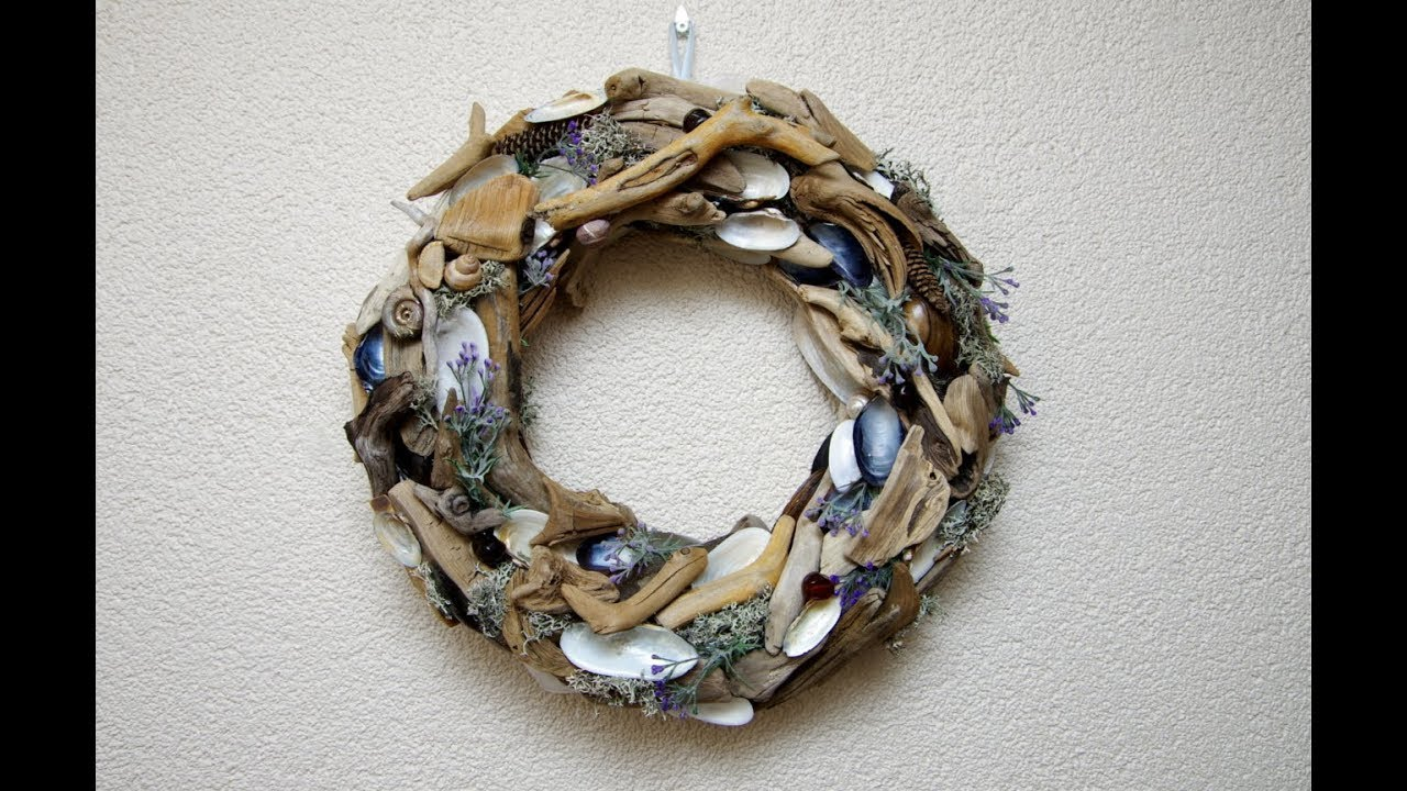Diy driftwood wreath for How to work with driftwood