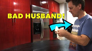 BAD HUSBAND CAUGHT RED-HANDED (ON VIDEO!)