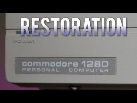 Commodore 128D Restoration Project