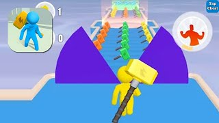 Giant Hammer 🎮 All Levels Gameplay Android iOS Max Level 60 - 72