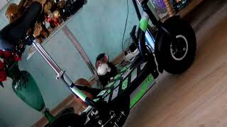 видео Электросамокат Eltreco Uber ES07 1200W 48V