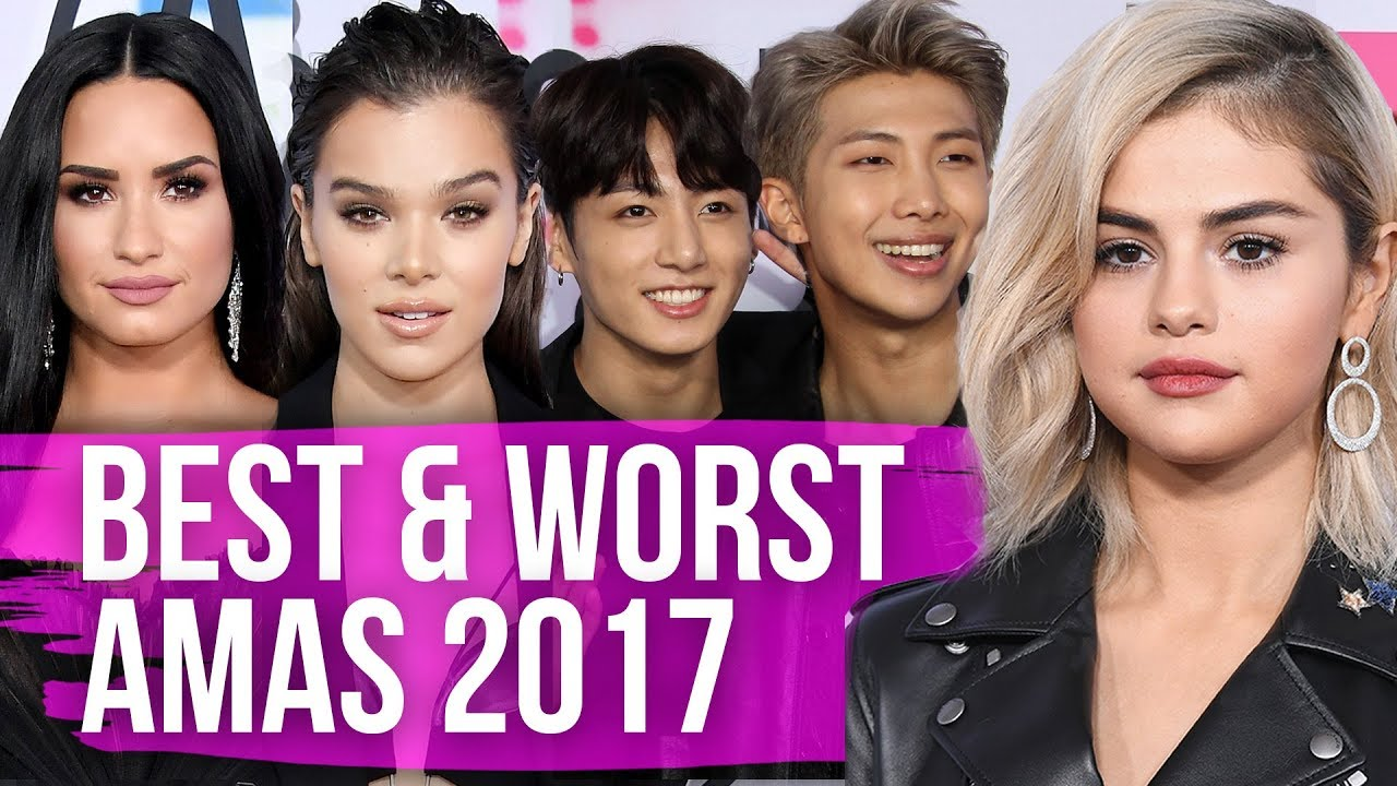 Best & Worst Dressed 2017 AMAs (Dirty Laundry)