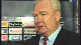 Барселона - Динамо К 1997 (0-4) Лобановський інтерв'ю УТ-1,LIVE