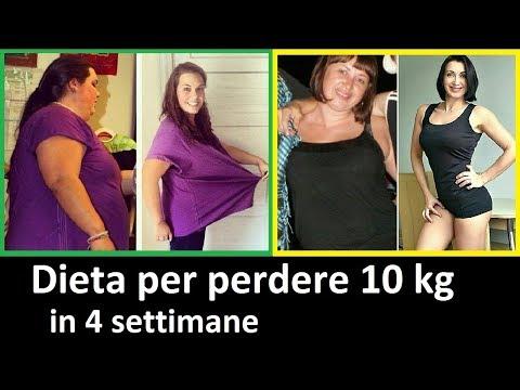 dieta-per-perdere-10-kg-in-4-settimane