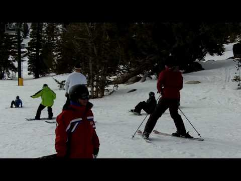 Darlene, Michael, and  Melvin Brum Skiing, Snowboarding at Heavenly