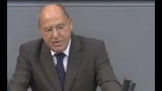 Gregor Gysi :  Auch genervt von den Grünen - Bundestag Linken - 12.9.2018