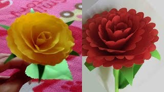 How to Make Beautiful Flower with Paper | DIY Paper Crafts