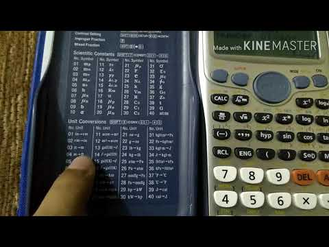 كيف تسخدم الاله الحاسبة من الاف الي الياء Casio Funnycattv