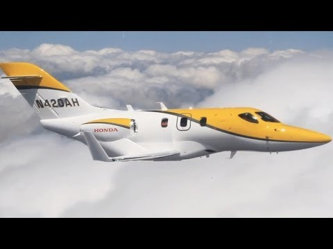 HondaJet F3 Worlds Most Advanced Business Jet Commercial CARJAM TV HD Car TV Show