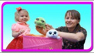 Animale surprize #3!!! Invatam animalele si sunetele lor  Anabella show