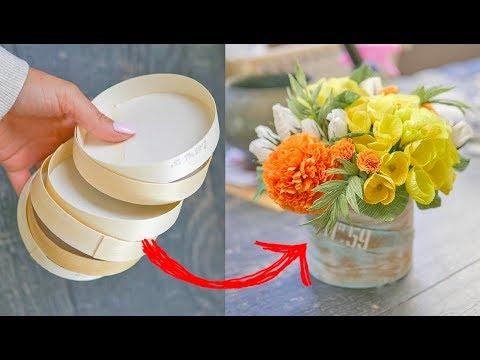 Сделать осенний букет своими руками из бумаги