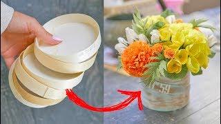 как сделать осенний букет своими руками