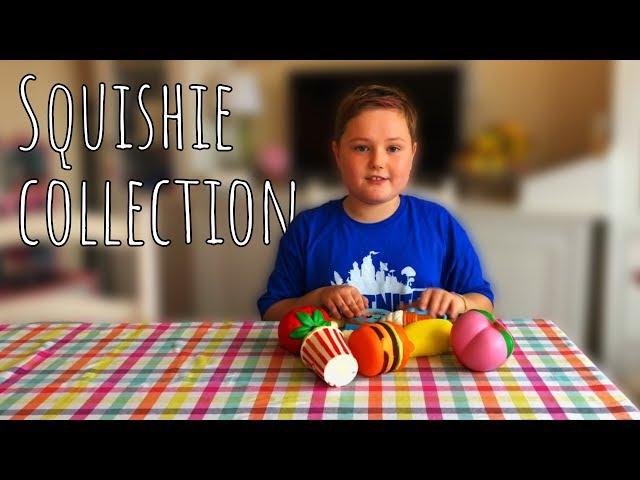Alfie's Squishie collection!
