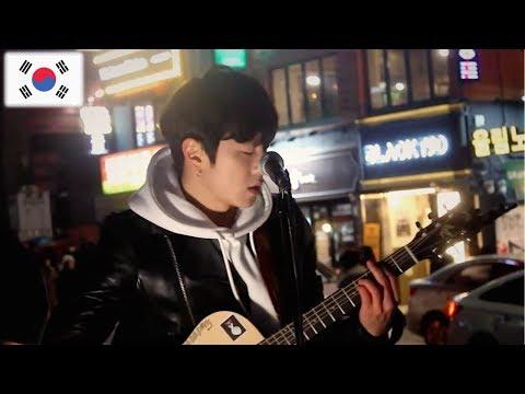 На улицах Кореи звучали песни Кино (Виктор Цой) - Группа крови