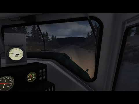 Train Simulator : BN F45 Cab Ride Whitefish to West Glacier