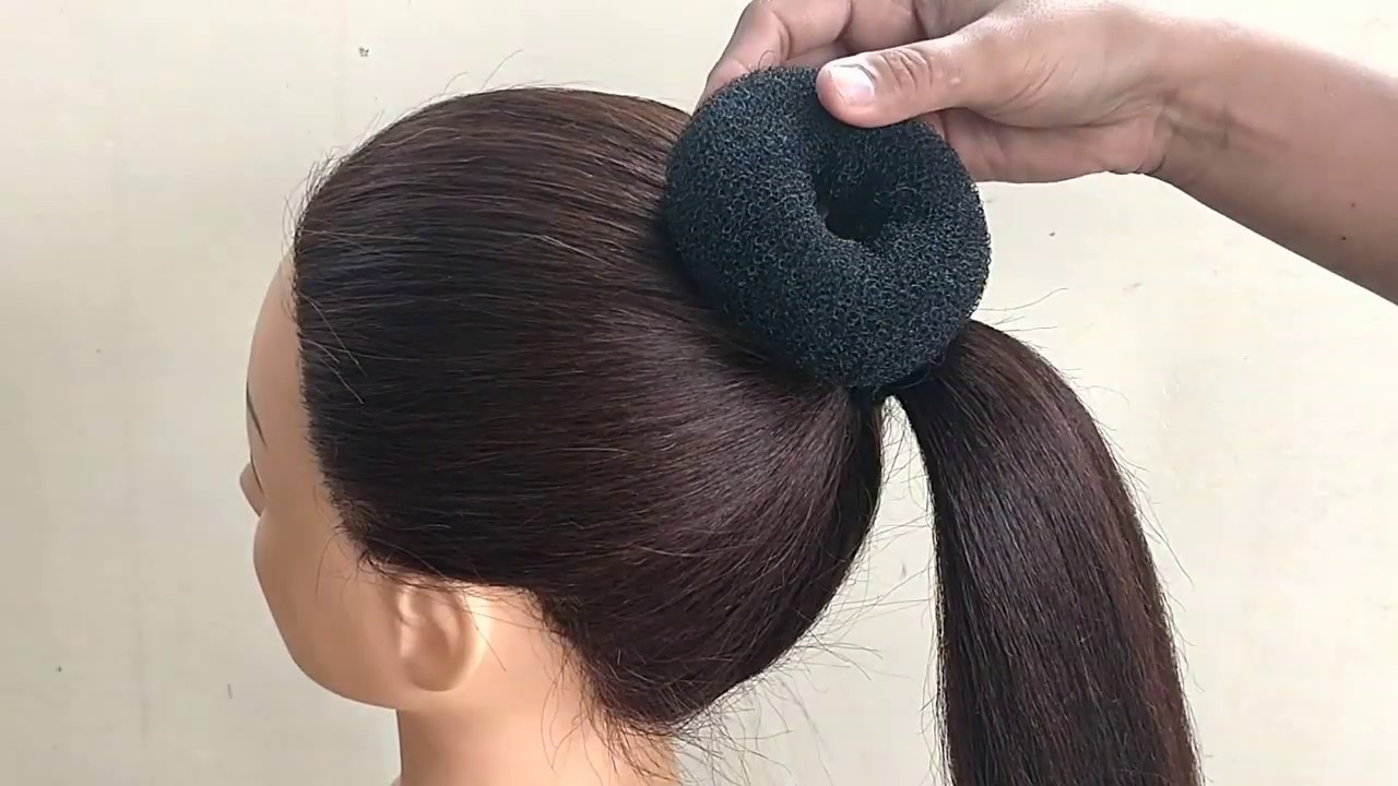 Easy Bun Hairstyles For Saree    Hairstyle For Women ...
