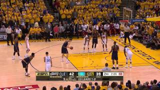 Timofey Mozgov vs GSW. Final, Game 2. 7.06.2015