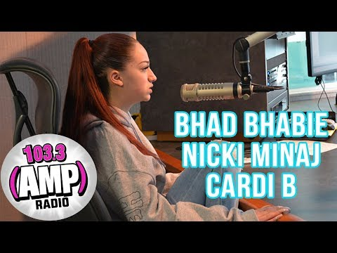 Bhad Bhabie Talks Nicki Minaj, Cardi B, & BBMAs