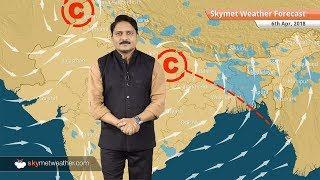 6 अप्रैल मौसम पूर्वानुमान: बिहार, उत्तर प्रदेश, पश्चिम बंगाल में बारिश; दिल्ली में आँधी के आसार