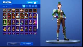FREE FORTNITE ACCOUNT*Black knight and Sgt. Green Clover* Giveaway #4