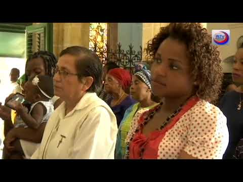 People at Equatorial Guinea inherit religious faith of their colonizers