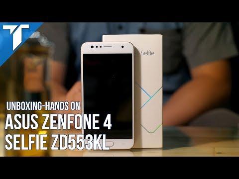 Asus Zenfone 4 Selfie (ZD553KL) Unboxing Hands On