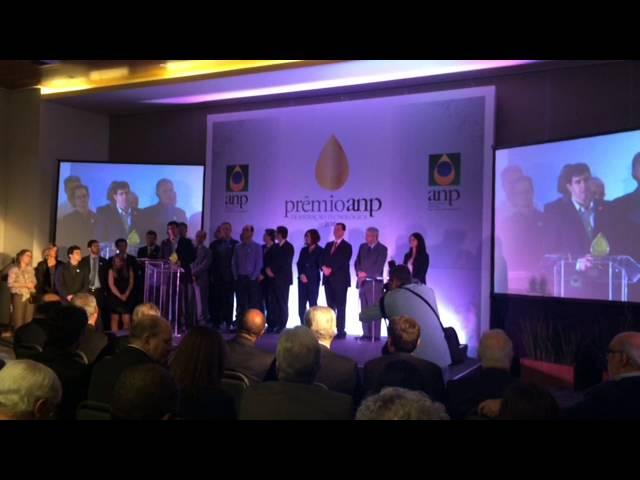 Discurso dos ganhadores Prêmio ANP 2016