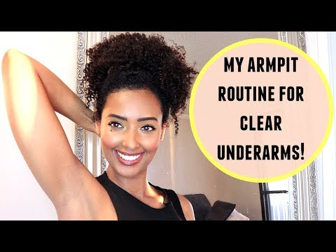 My Simple & Easy Armpit Routine for Clear Underarms!