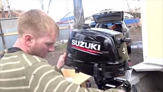 Обзор нового  Suzuki DF6AS. Первые впечатления.