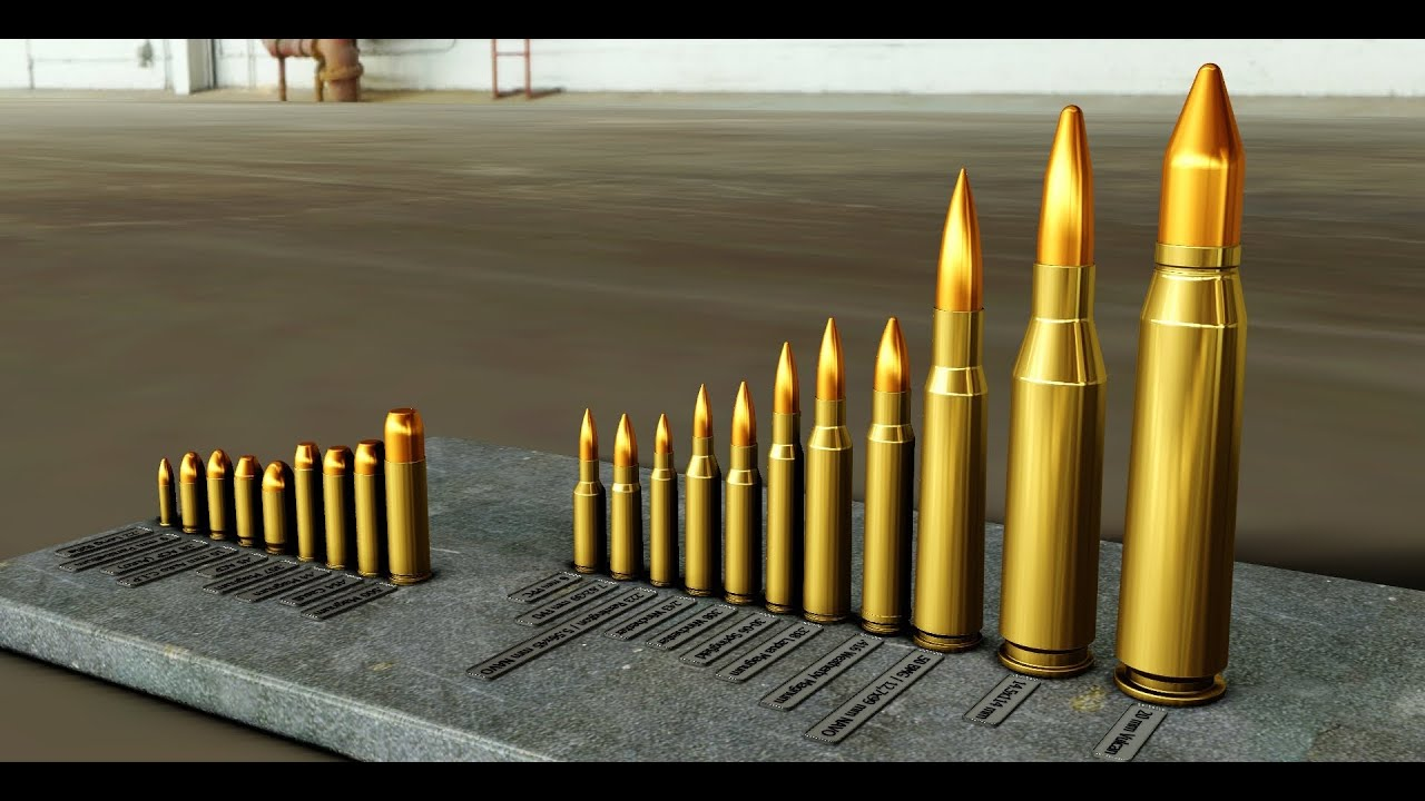 Ammunition Caliber List