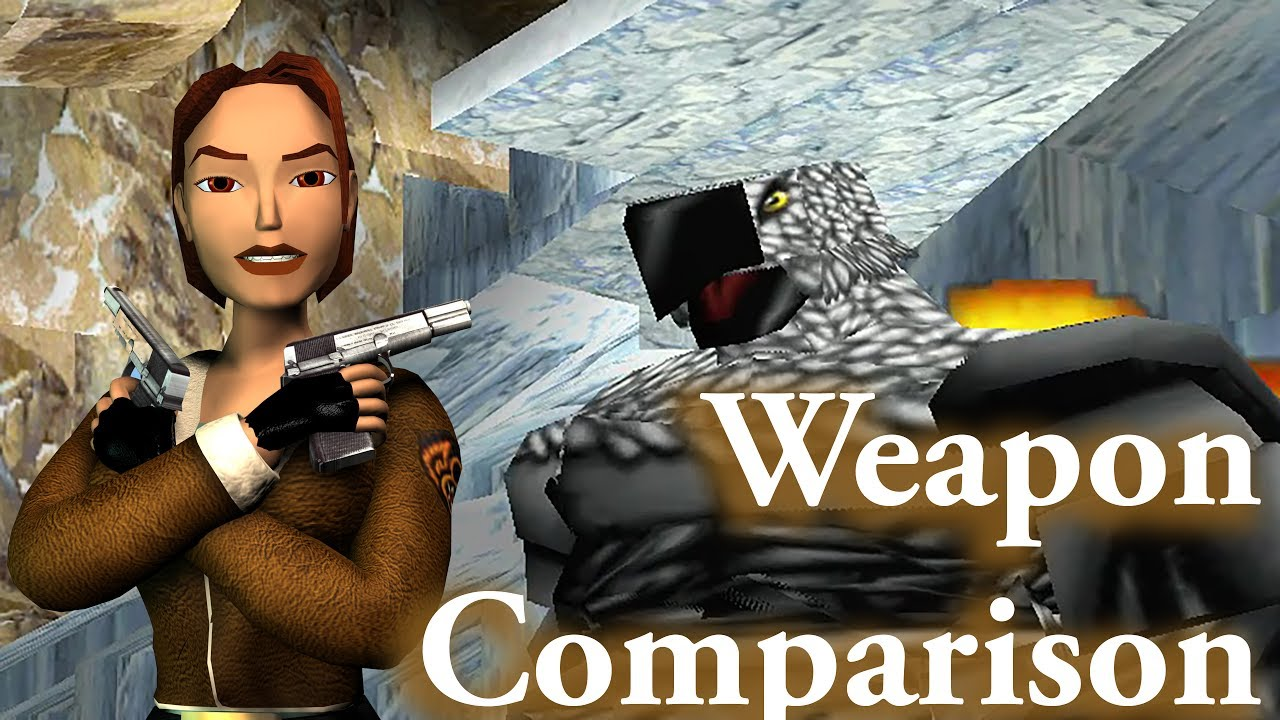 Tomb Raider 2: Weapon Comparison (Guardian of the Talion)
