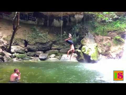 Rincón Day Trip - Gozalandia Waterfalls in San Sebastián Puerto Rico