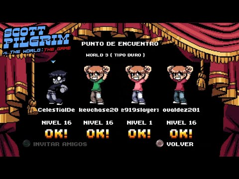 PRIMERA PARTIDA ONLINE!!!! - Scott Pilgrim vs. The World: The Game Complete Edition | jovaldez :D |