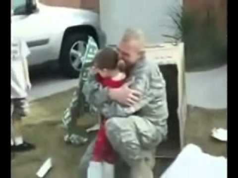 You've Been There All Along. [Military Family Reunions]