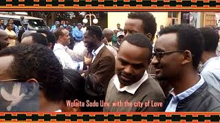 Wolaita Sodo Unv  with the city of Love