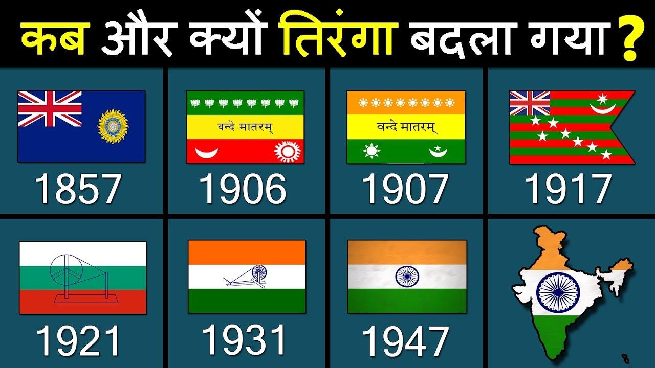 Indian Flag History: भारतीय राष्ट्रीय ध्वज (तिरंगे) का इतिहास