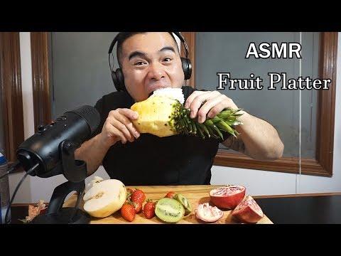 Asmr FRUIT PLATTER * EXTREME EATING SOUNDS *BIG BITES *NO TALKING