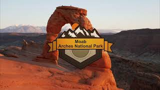 Arches National Park Aerial Vacation