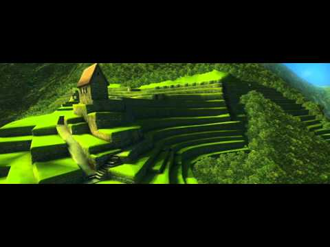 Interactive 3D-model of Machu Picchu, Peru