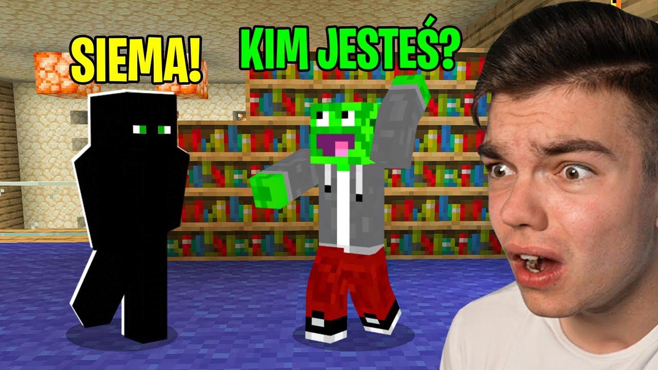 KTOŚ NOWY DOŁĄCZYŁ NA WOJANOWICE w Minecraft...