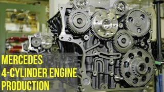 Mercedes 4-Cylinder Engine Production