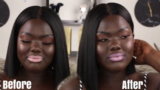 Different Ways to make Pale NUDES work on Dark Skin|| Nyma Tang