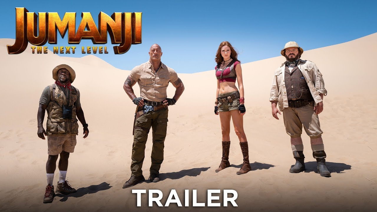 JUMANJI: THE NEXT LEVEL - Trailer - Ab 12.12.19 im Kino!