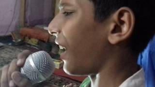 Rang aur noor ki baarat __singer Ansh singing in music class room