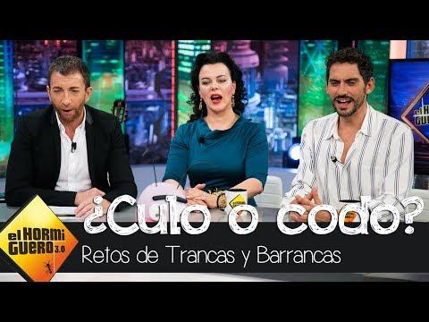 Paco León y Debi Mazar demuestran su destreza en 'Culo o codo' - El Hormiguero 3.0 thumbnail