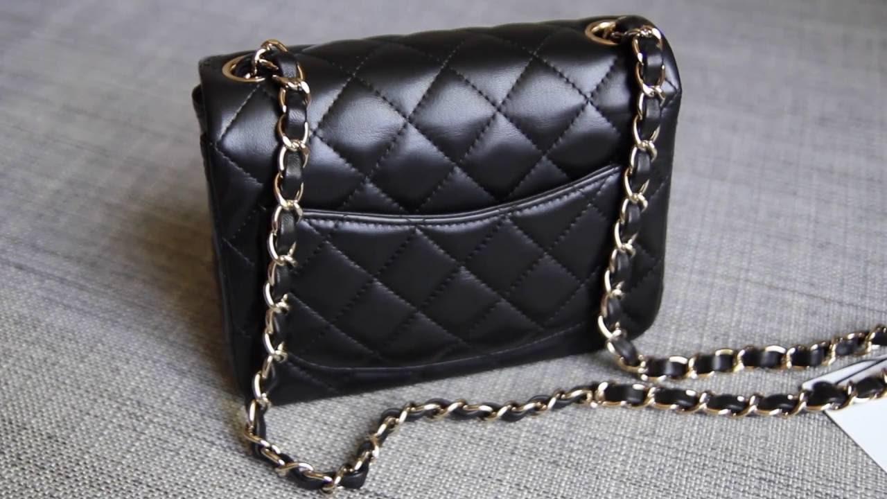 Chanel Square Mini Flap Unboxing - YouTube ac14a7d1de37b