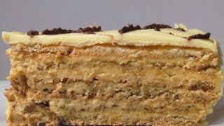 Торт  Эстерхази. Как приготоить коржи для Эстерхази